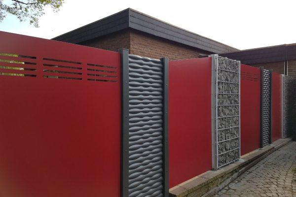 Gabionen & Metallzaun in Duisburg